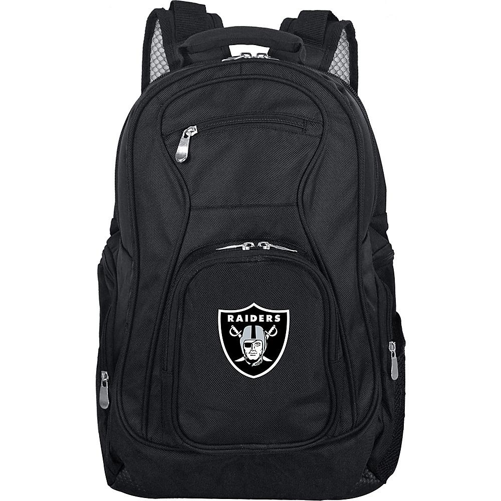 "Denco Sports Luggage NFL 19"" Laptop Backpack Oakland Raiders - Denco Sports Luggage Business & Laptop Backpacks"