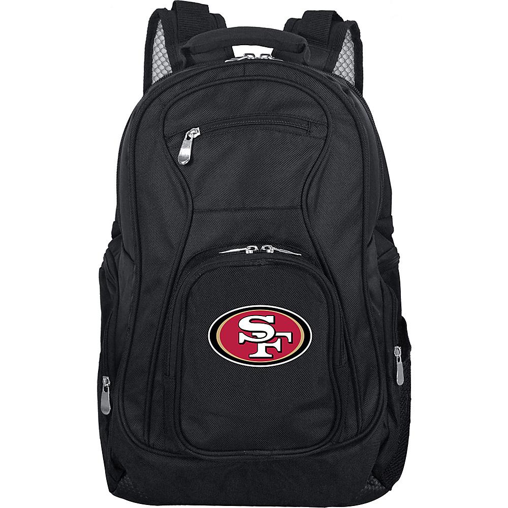 "Denco Sports Luggage NFL 19"" Laptop Backpack San Francisco 49ers - Denco Sports Luggage Business & Laptop Backpacks"