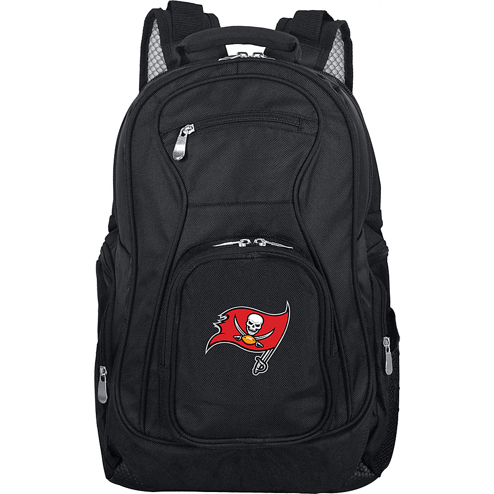 Denco Sports Luggage NFL 19 Laptop Backpack Tampa Bay Buccaneers - Denco Sports Luggage Business & Laptop Backpacks - Backpacks, Business & Laptop Backpacks