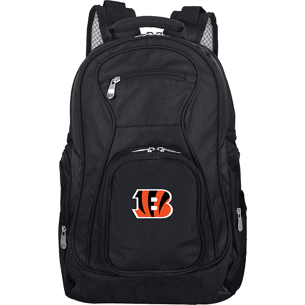 "Denco Sports Luggage NFL 19"" Laptop Backpack Cincinnati Bengals - Denco Sports Luggage Business & Laptop Backpacks"