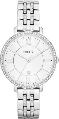 Fossil Women's Jacqueline Bracelet Watch Silver - Fossil Watches