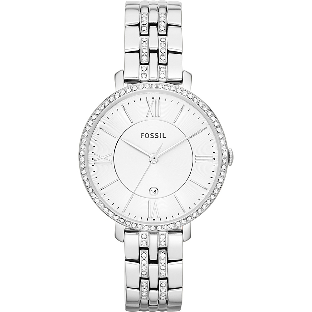 Fossil Womens Jacqueline Bracelet Watch Silver - Fossil Watches - Fashion Accessories, Watches