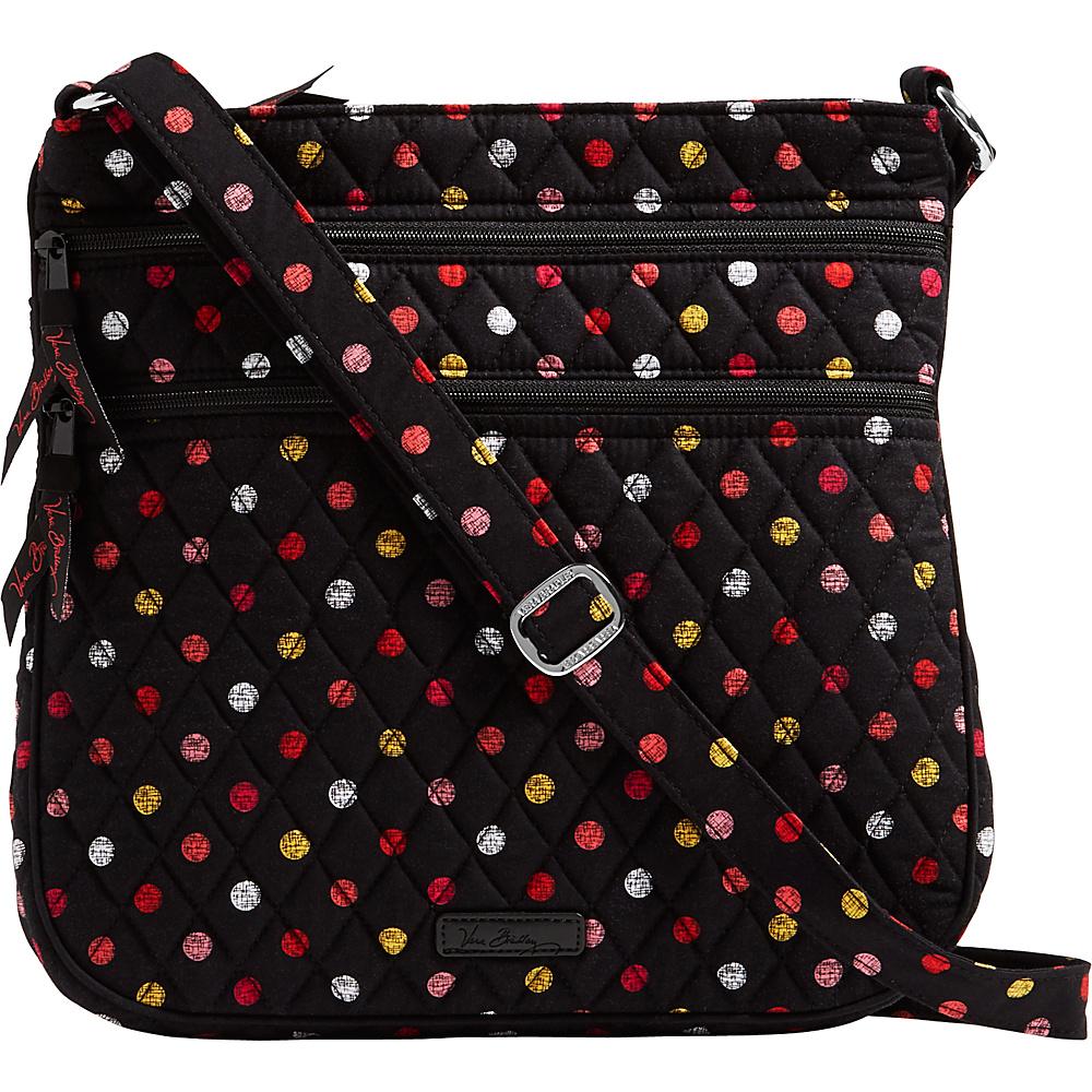 Vera Bradley Triple Zip Hipster Crossbody Havana Dots - Vera Bradley Fabric Handbags - Handbags, Fabric Handbags