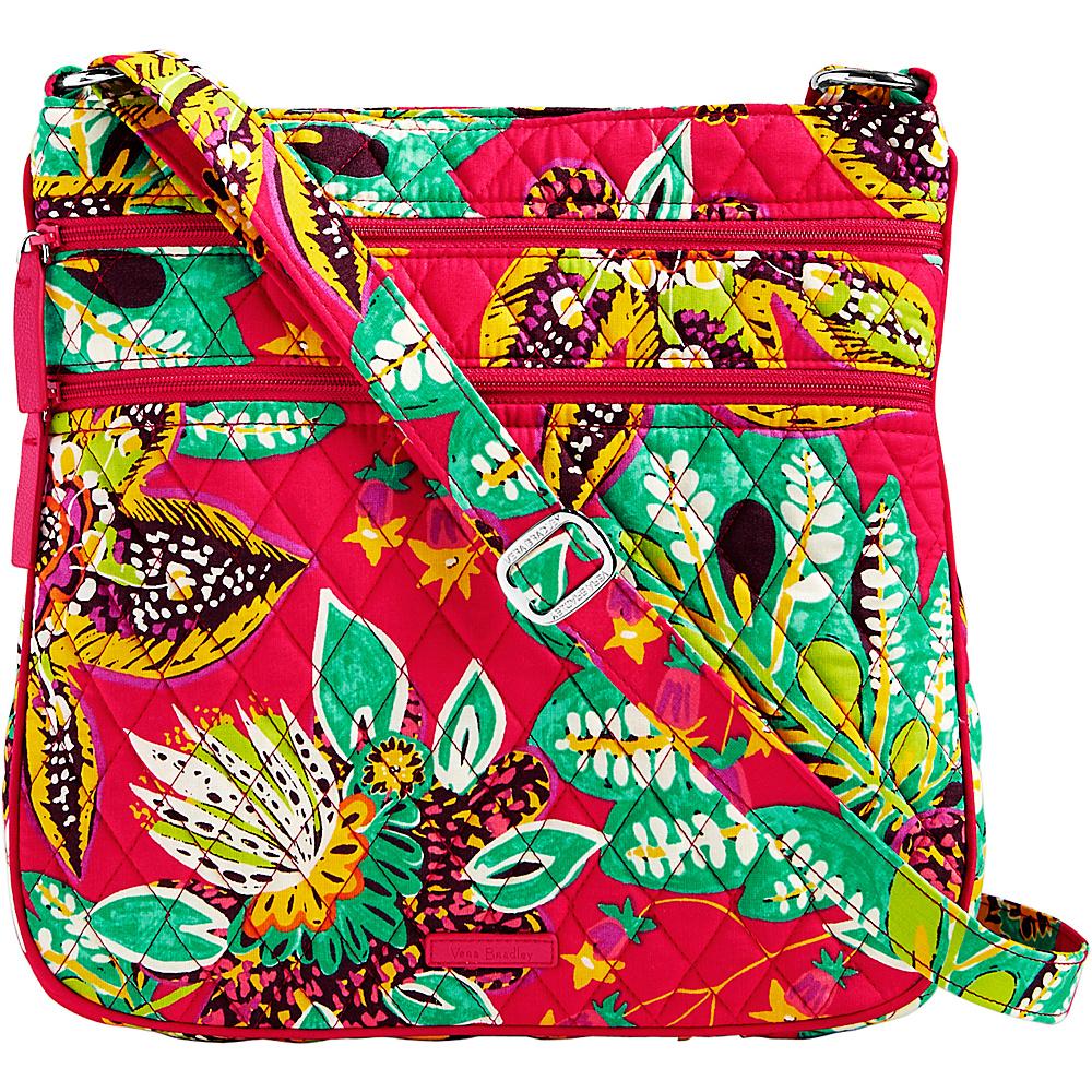 Vera Bradley Triple Zip Hipster Crossbody Rumba - Vera Bradley Fabric Handbags - Handbags, Fabric Handbags