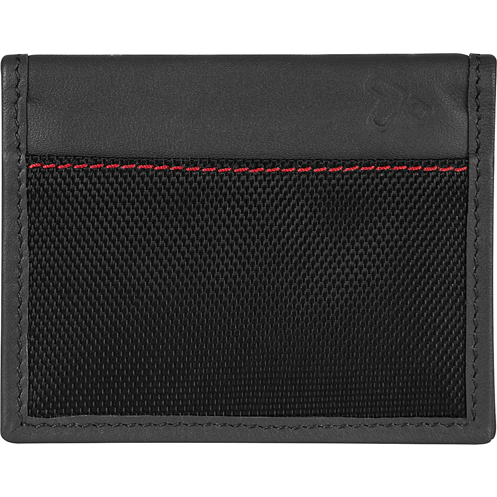 Travelon Safe ID Accent Card Case Black - Travelon Mens Wallets - Work Bags & Briefcases, Men's Wallets