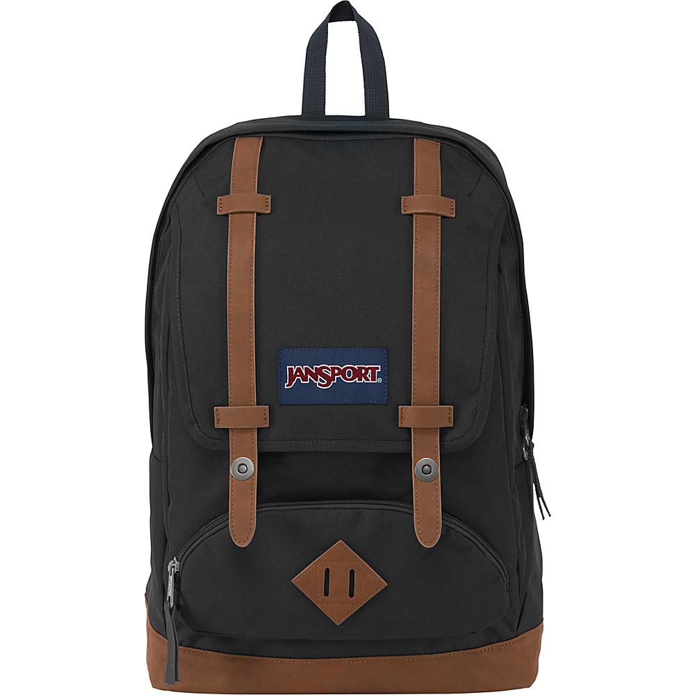 JanSport Cortlandt Backpack Black - JanSport Everyday Backpacks