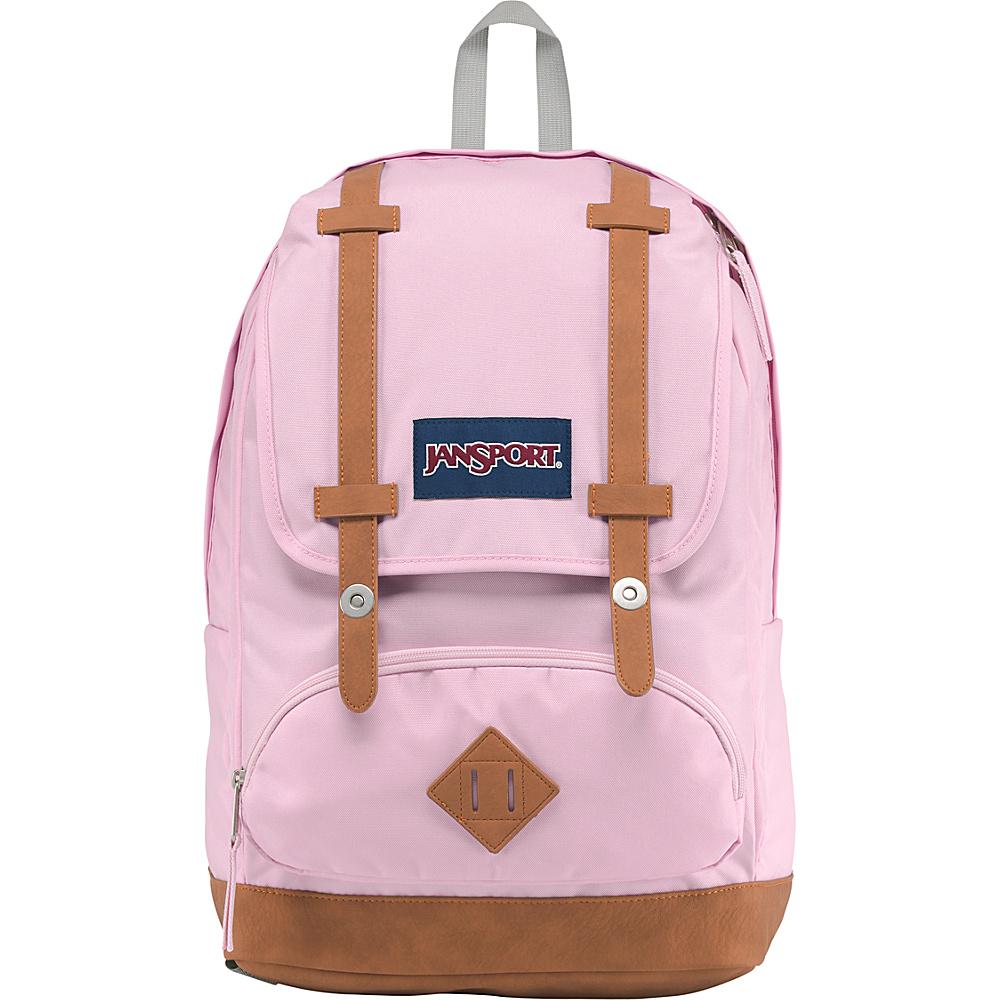 JanSport Cortlandt Backpack Pink Mist - JanSport Everyday Backpacks