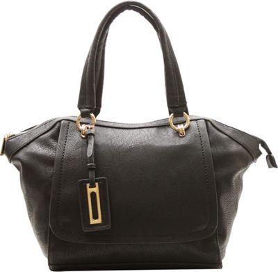 Robert Matthew Alayna Satchel Tote Black - Robert Matthew Manmade Handbags