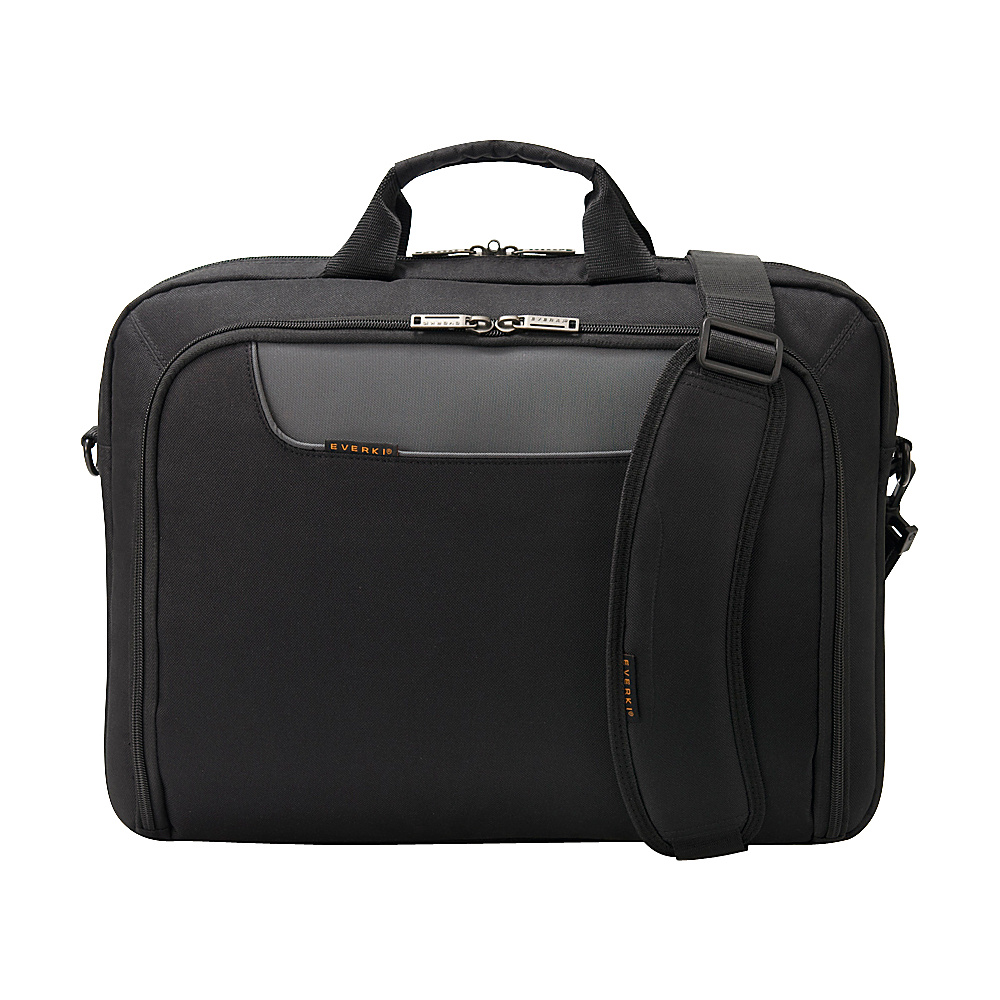 "Everki Advance 17.3"" Laptop Bag Black - Everki Non-Wheeled Business Cases"