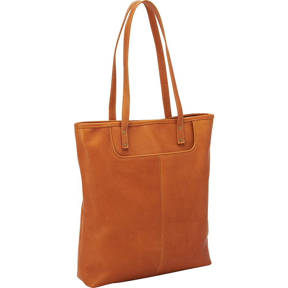 Le Donne Leather Fly Away Tote Tan - Le Donne Leather Leather Handbags - Handbags, Leather Handbags