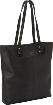 Le Donne Leather Fly Away Tote Black - Le Donne Leather Leather Handbags