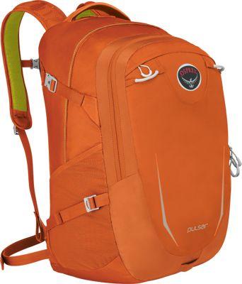 Osprey Pulsar Laptop Backpack Habanero Orange - Osprey Business & Laptop Backpacks