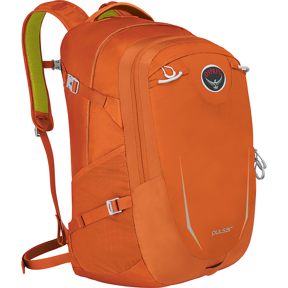 Osprey Pulsar Laptop Backpack Habanero Orange Osprey Business Laptop Backpacks