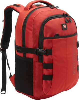Victorinox VX Sport Cadet Laptop Backpack Red - Victorinox Business & Laptop Backpacks