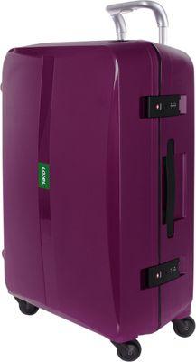 Lojel Octa Large Luggage Purple - Lojel Hardside Checked
