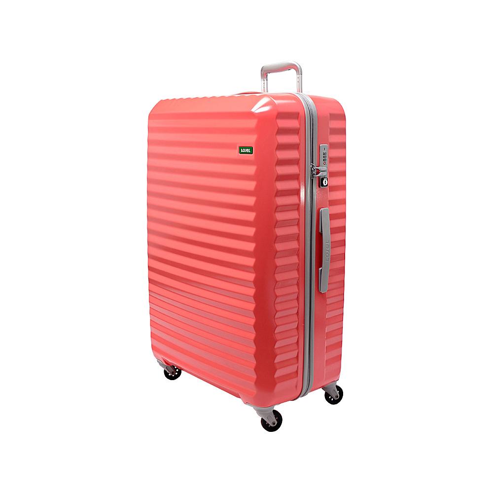 Lojel Groove Zipper Large Luggage 4 Colors Hardside Checked NEW | eBay