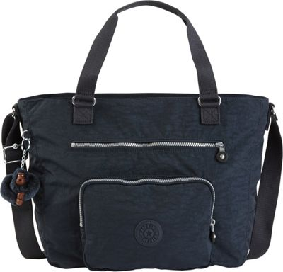 Kipling Maxwell Convertible Tote True Blue - Kipling Fabric Handbags
