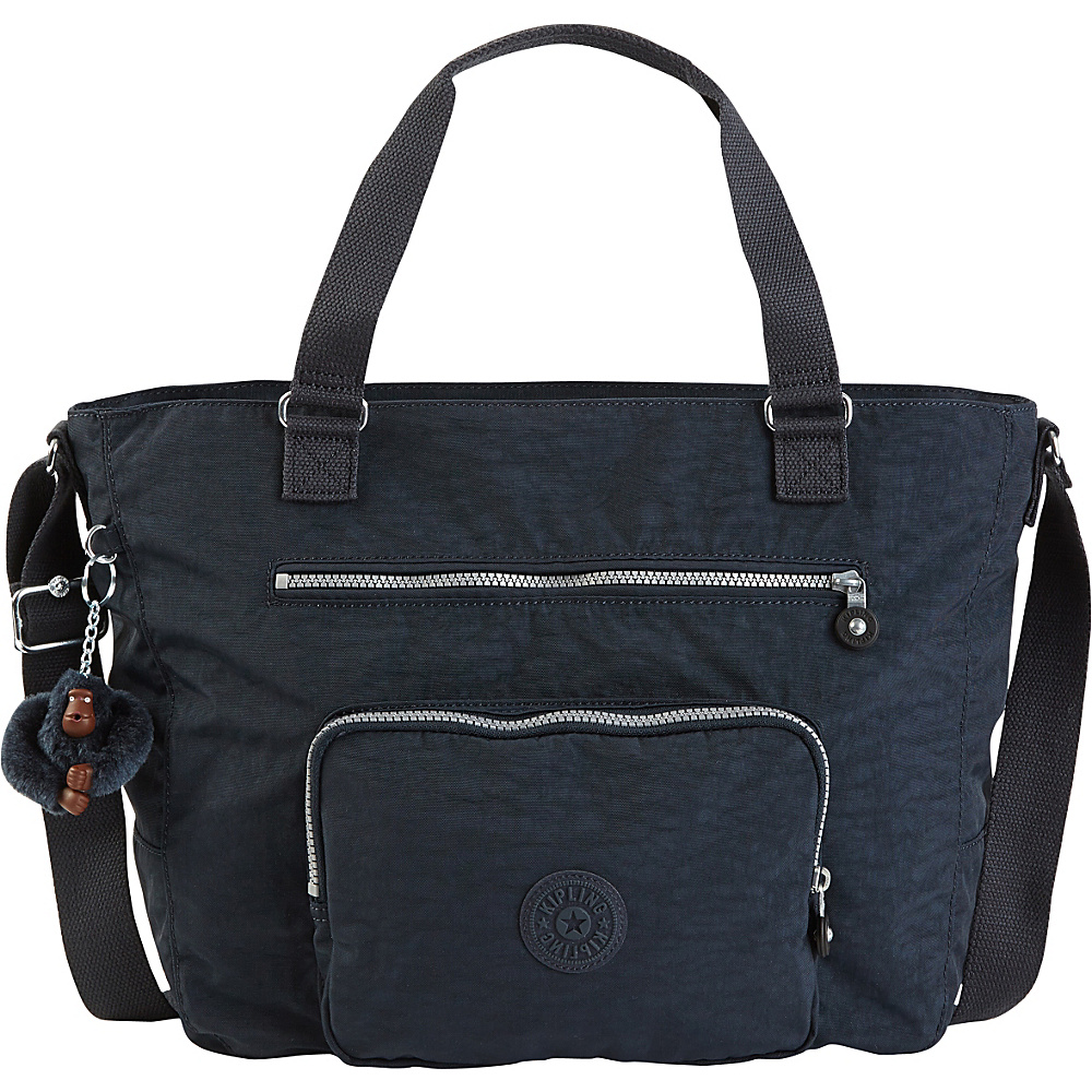 Kipling Maxwell Convertible Tote True Blue Kipling Fabric Handbags