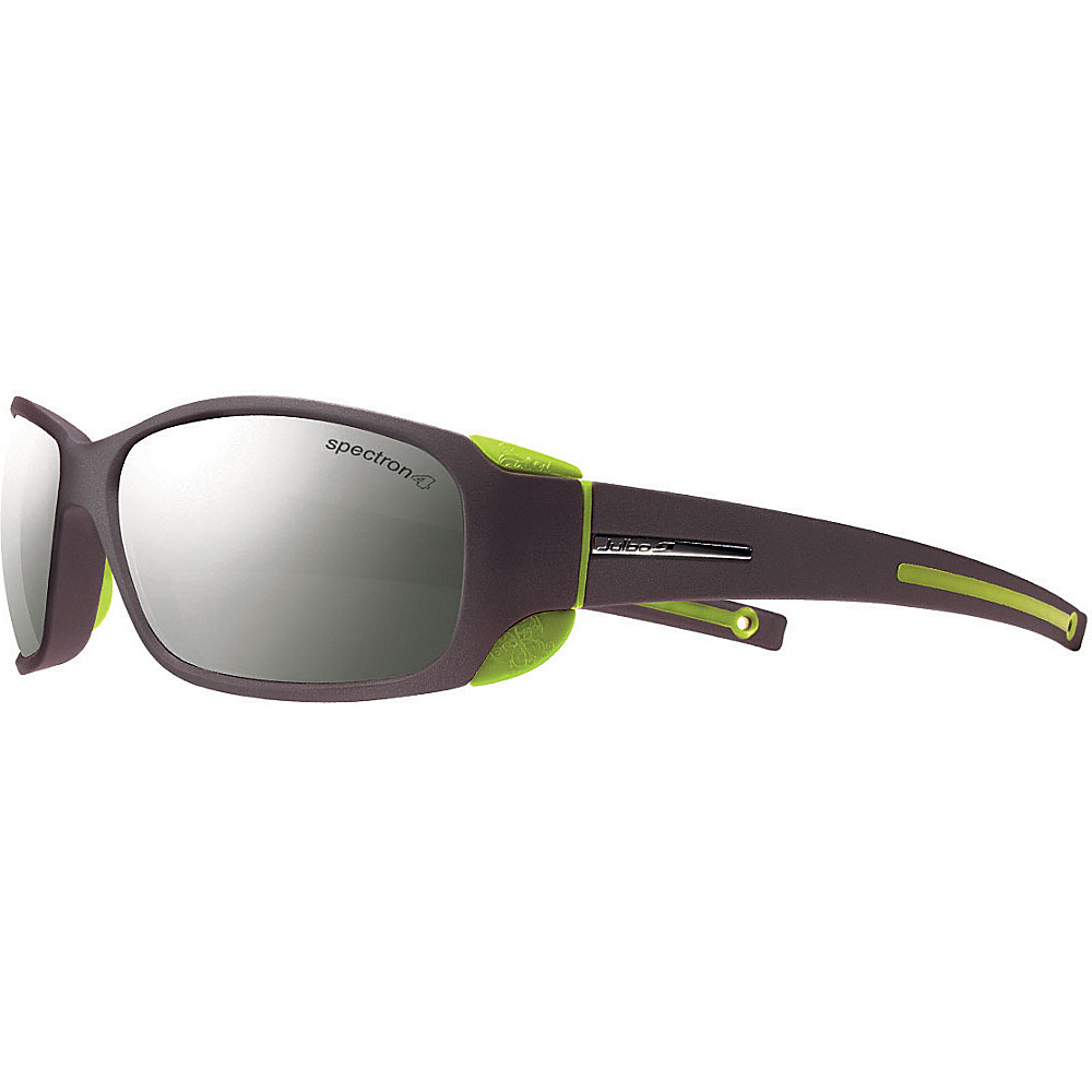 Julbo Montebianco Sunglasses with Spectron 4 Lenses Matt Black Lime Julbo Sunglasses