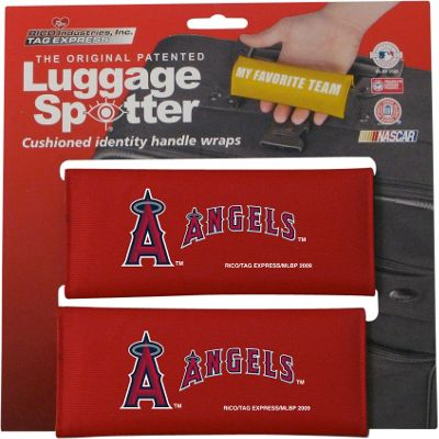 Luggage Spotters Luggage Spotters MLB Anaheim Angels Luggage Spotter Red - Luggage Spotters Luggage Accessories