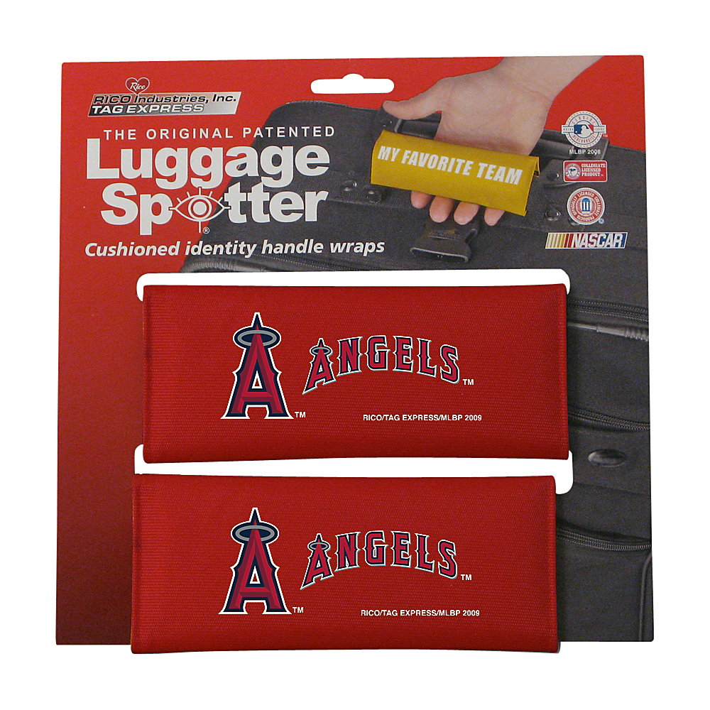 Luggage Spotters MLB Anaheim Angels Luggage Spotter Red Luggage Spotters Luggage Accessories