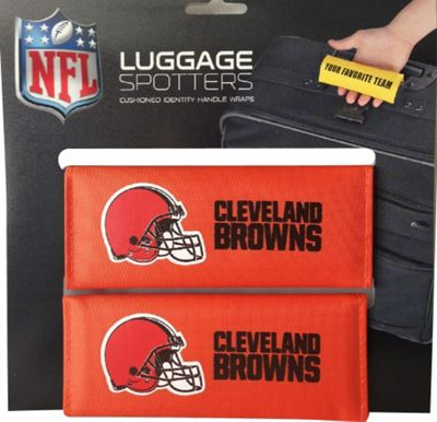 Luggage Spotters Luggage Spotters NFL Cleveland Browns Luggage Spotter Orange - Luggage Spotters Luggage Accessories