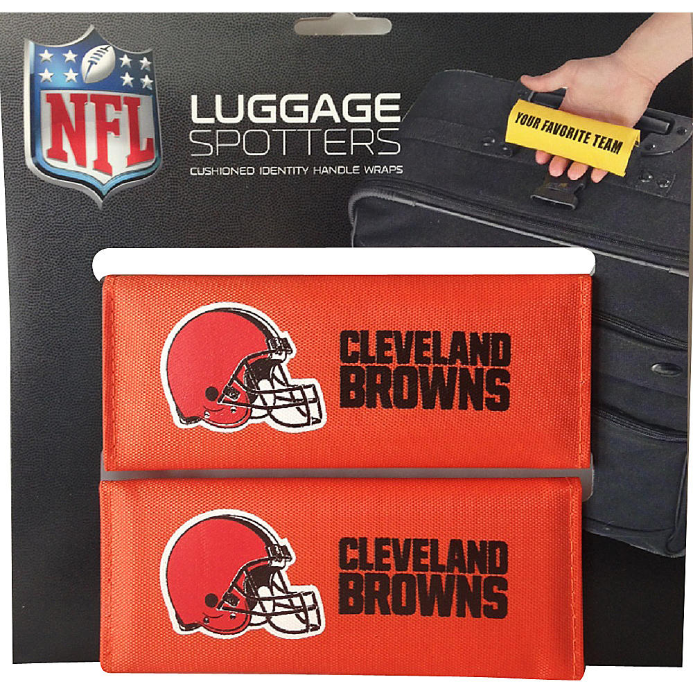 Luggage Spotters NFL Cleveland Browns Luggage Spotter Orange Luggage Spotters Luggage Accessories