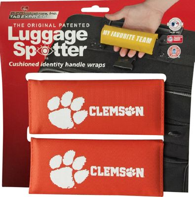 Luggage Spotters Luggage Spotters NCAA Clemson Tigers Luggage Spotter Orange - Luggage Spotters Luggage Accessories