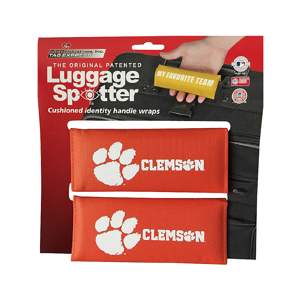 Luggage Spotters NCAA Clemson Tigers Luggage Spotter Orange Luggage Spotters Luggage Accessories