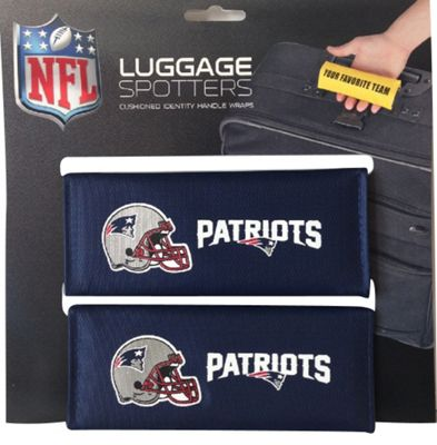 Luggage Spotters NFL New England Patriots Luggage Spotter Blue - Luggage Spotters Luggage Accessories
