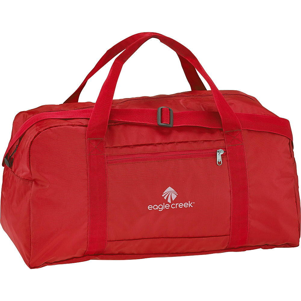 Eagle Creek Packable Duffel Red Fire - Eagle Creek Lightweight packable expandable bags