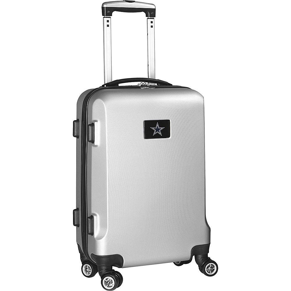 Denco Sports Luggage NFL 20 Domestic Carry-On Silver Dallas Cowboys - Denco Sports Luggage Kids Luggage - Luggage, Kids' Luggage