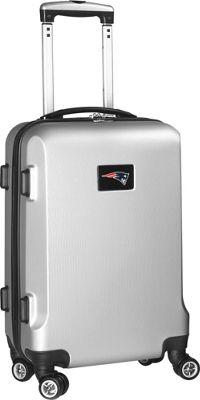 "Denco Sports Luggage NFL 20"""" Domestic Carry-On Silver New England Patriots - Denco Sports Luggage Kids' Luggage"