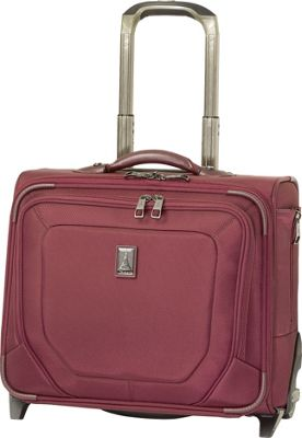 Travelpro Crew 10 Rolling Tote - CLOSEOUT Merlot - Travelpro Wheeled Business Cases