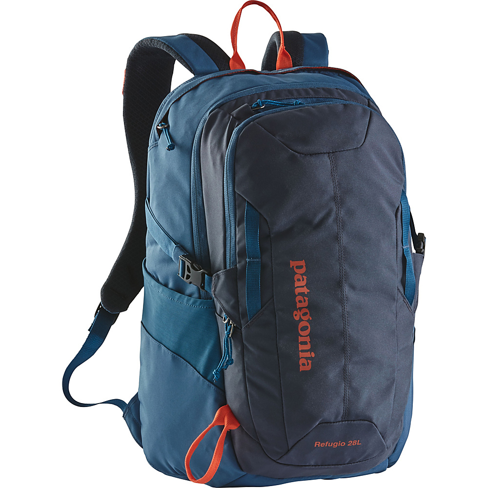 Patagonia Refugio 28L Backpack - 20 Smolder Blue w/Glass Blue - Patagonia Business & Laptop Backpacks - Backpacks, Business & Laptop Backpacks