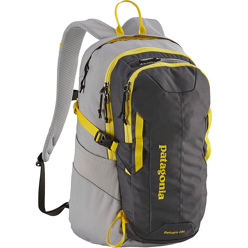 Patagonia Refugio 28L Backpack - 20 Forge Grey/Chromatic Yellow - Patagonia Business & Laptop Backpacks - Backpacks, Business & Laptop Backpacks