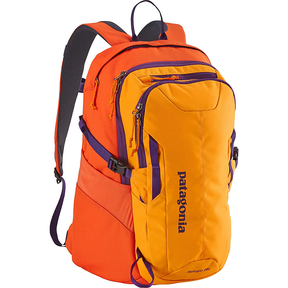 Patagonia Refugio 28L Backpack - 20 Sporty Orange/Campfire Orange - Patagonia Business & Laptop Backpacks - Backpacks, Business & Laptop Backpacks
