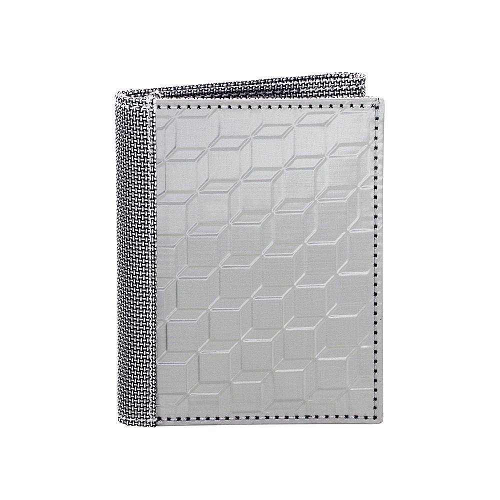 Stewart Stand RFID Blocking Tri Fold Silver Grey Mesh Stewart Stand Men s Wallets
