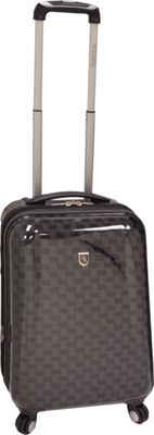 """Image of Beverly Hills Country Club Hillcrest 22"""" Spinner Luggage Black - Beverly Hills Country Club Small Rolling Luggage"""