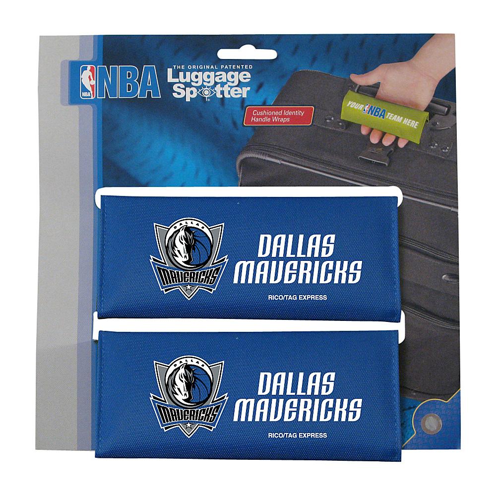 Luggage Spotters NBA Dallas Mavericks Luggage Spotters Blue Luggage Spotters Luggage Accessories
