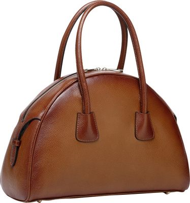 Vicenzo Leather Emmy Italian Leather Tote Brown - Vicenzo Leather Leather Handbags