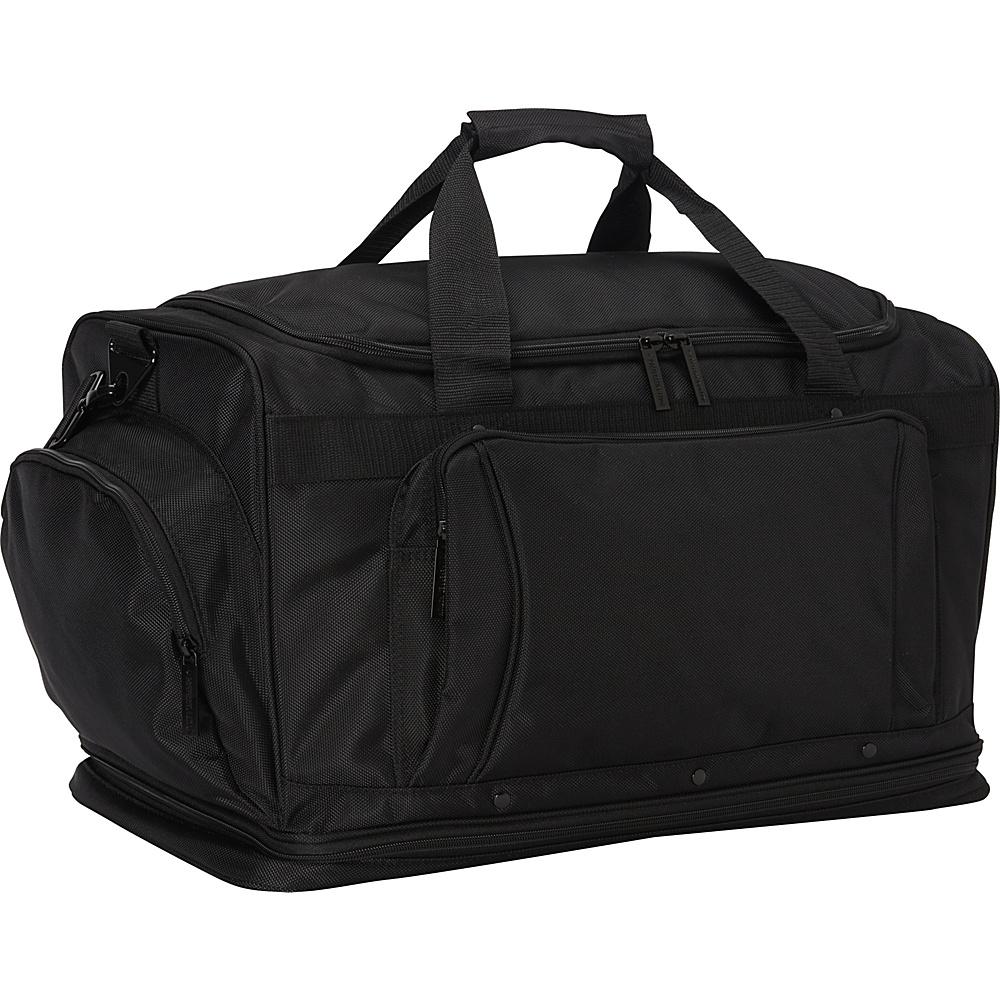 Bellino Expandable Duffle Black Bellino Travel Duffels