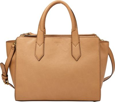 Fossil Knox Shopper Tote Beige - Fossil Leather Handbags