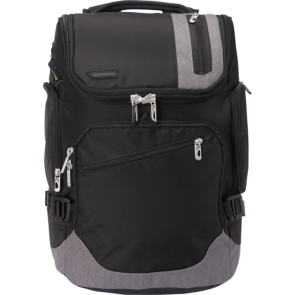 Briggs Riley BRX Excursion Backpack Black Briggs Riley Business Laptop Backpacks