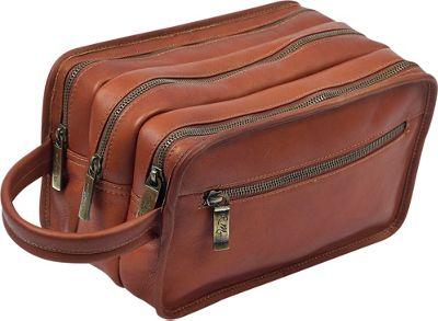 Robert Myers Chairman's Travel Kit Tan - Robert Myers Toiletry Kits