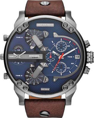 Diesel Watches Mr. Daddy 2.0 Watch Brown - Diesel Watches Watches