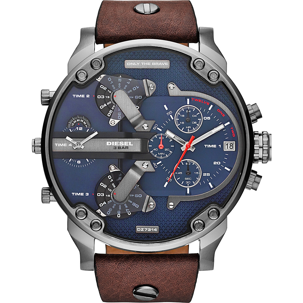 Diesel Watches Mr. Daddy 2.0 Watch Brown - Diesel Watches Watches