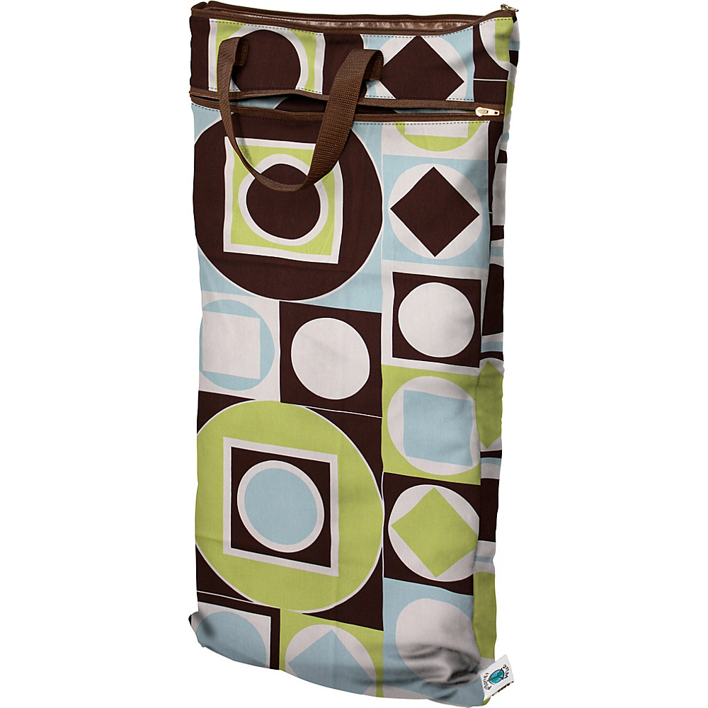 Planet Wise Hanging Wet/Dry Bag Geometric Studio - Planet Wise Diaper and Baby Accessories
