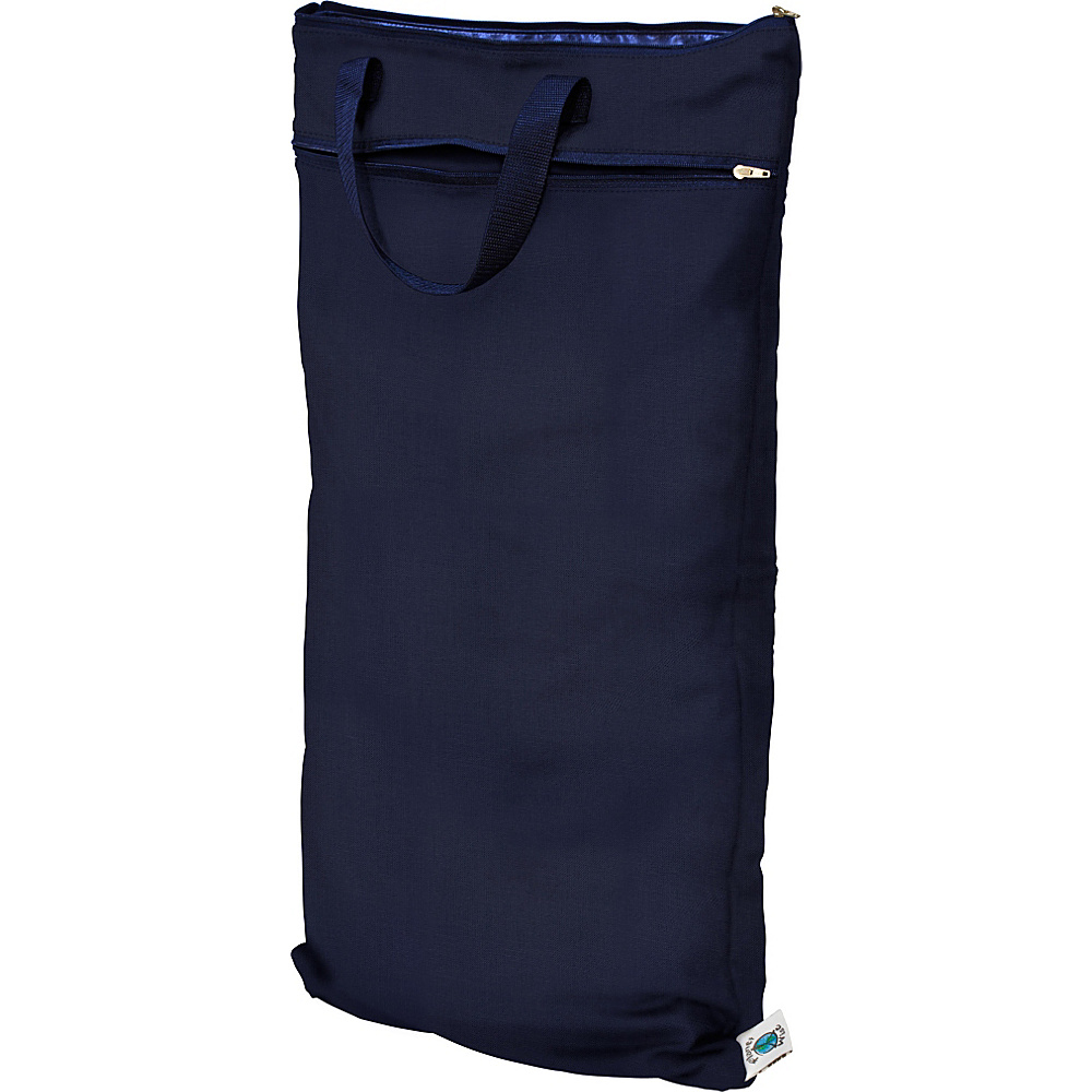 Planet Wise Hanging Wet Dry Bag Navy Planet Wise Diaper Bags Accessories