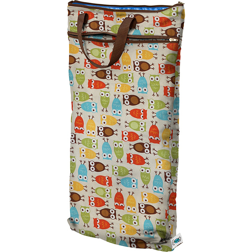 Planet Wise Hanging Wet Dry Bag Owl Planet Wise Diaper Bags Accessories